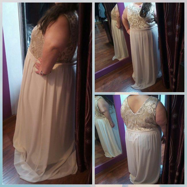 y llego mi 1° prueba de vestidos de novia - 1