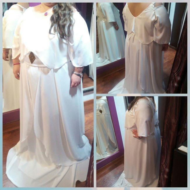 y llego mi 1° prueba de vestidos de novia - 2