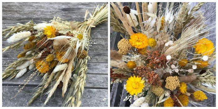 Ramo de flores secas ¿cuál os gusta más? 2