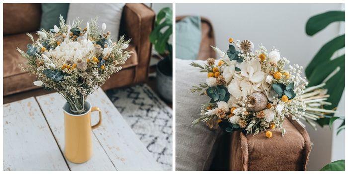 Ramo de flores secas ¿cuál os gusta más? 3
