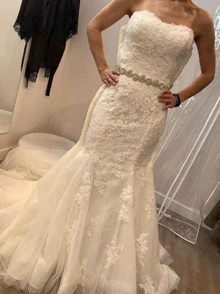 Enamorada d nuevo d mi vestido tras la primera prueba - 3