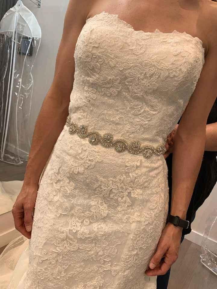 Enamorada d nuevo d mi vestido tras la primera prueba - 4