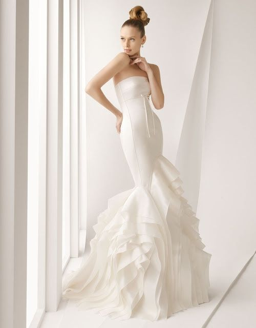 Cancan para vestido novia corte sirena