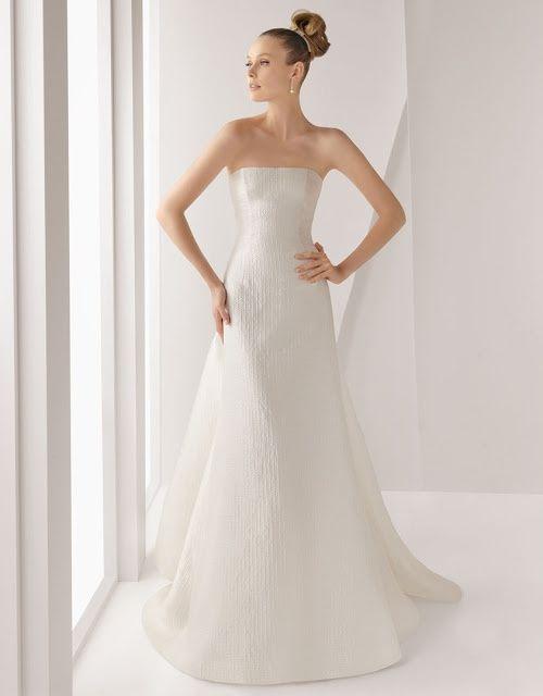 Vestidos de novia con cancan