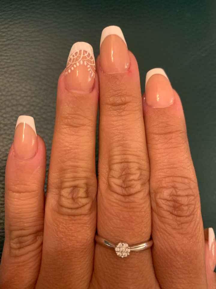 Mis uñas para el día B! 1 día. - 1
