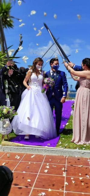 Felizmente casados!!!!! 1