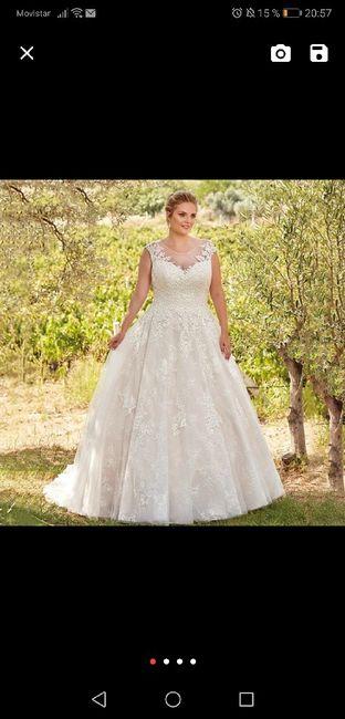 Vestido de novia.... Tienda?... On-line? 3
