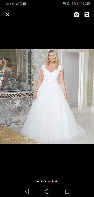 Vestido de novia.... Tienda?... On-line? 4