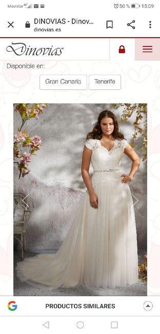 Vestido de novia.... Tienda?... On-line? 10