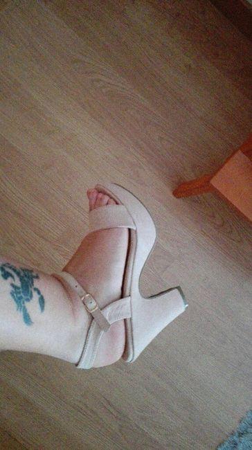 Zapatos de no novia!!! prima la comidad!! - 3