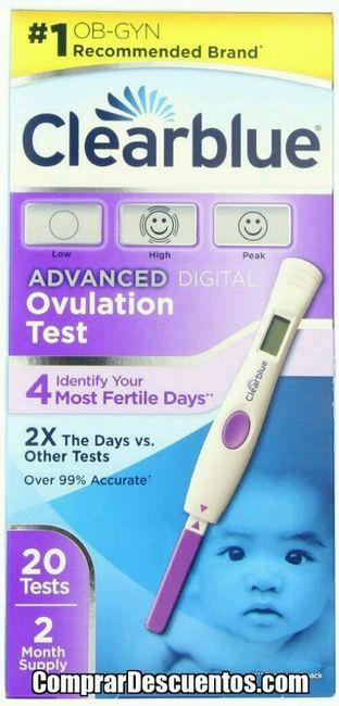 Nuevo test ovulacion clearblue - 1
