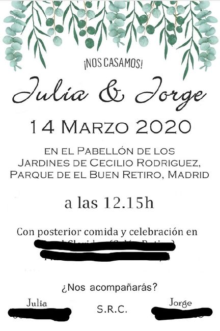 ¡Enséñanos tu invitación! 15