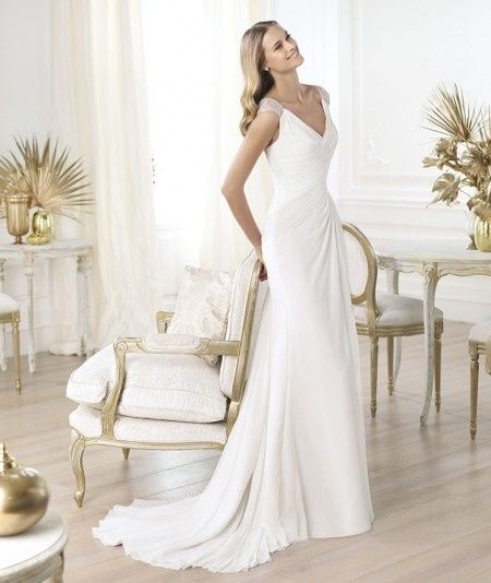vestido lali pronovias necesita cancan? - moda nupcial - foro bodas