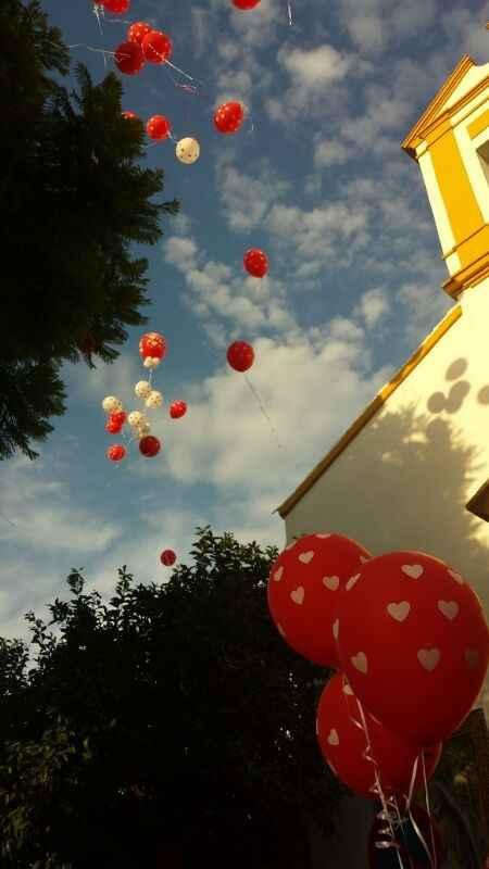 Soltada de globos