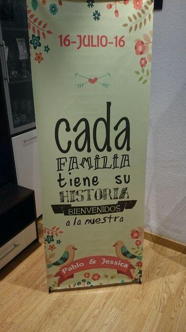 Banner boda - 1