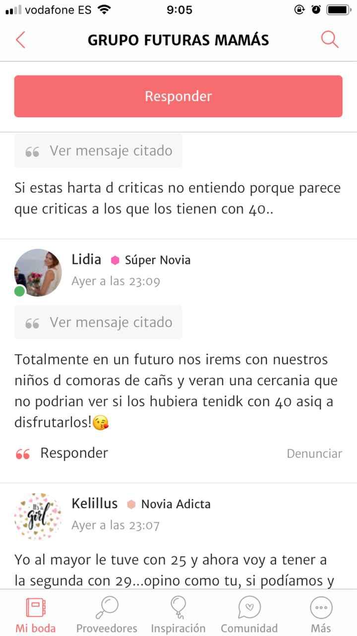 Hasta el c.. de criticas a las madres jóvenes - 1