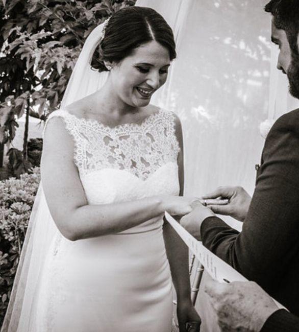 Vestido de novia, indecisa - 1