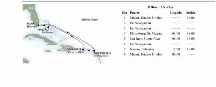 Ya tenemos luna de miel miami-las bahamas - 1