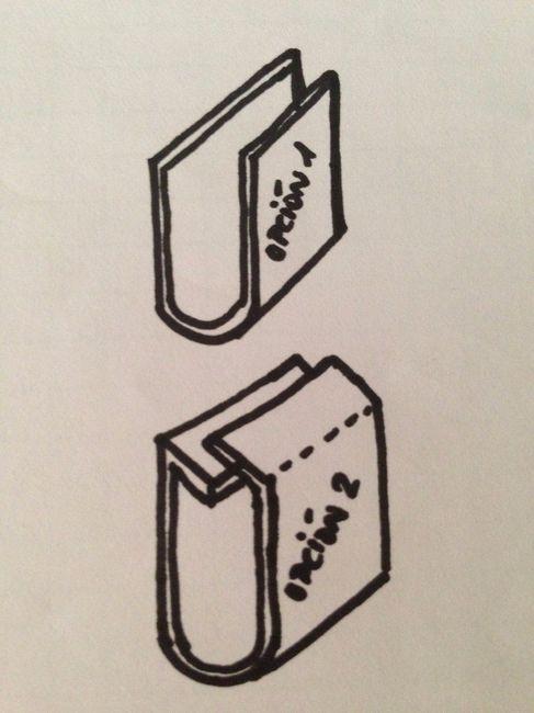 pliegues carton