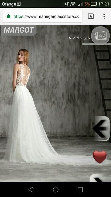 precios vestidos manu garcía colección 2018 - moda nupcial - foro