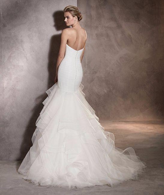 vestido con aire flamenco - moda nupcial - foro bodas