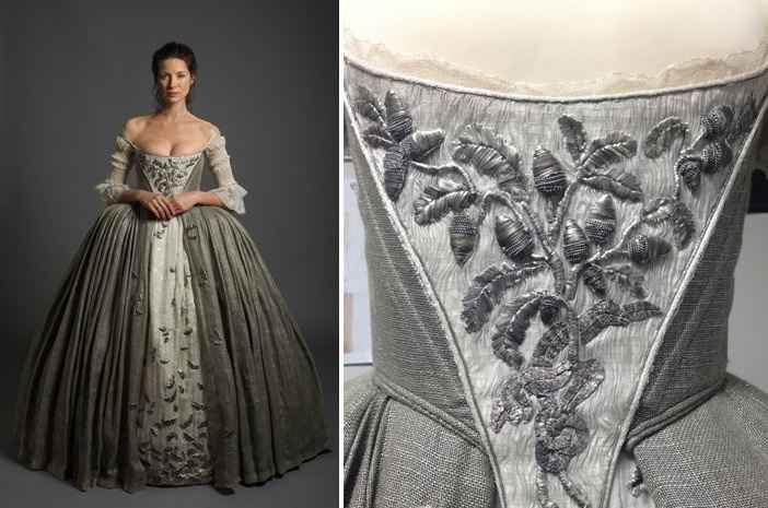 "Vestido de novia de ""Outlander"""