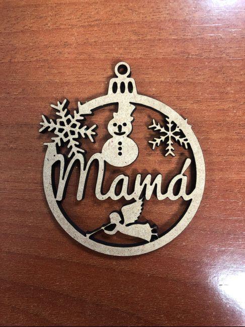 Bolas de navidad para el árbol y marca sitios - 2