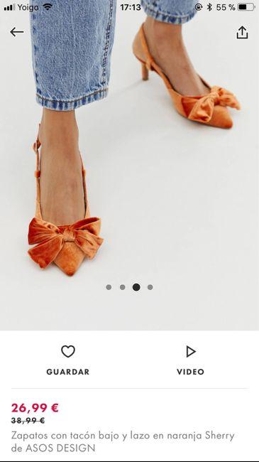 Zapatos planos o con muy poco tacón 20