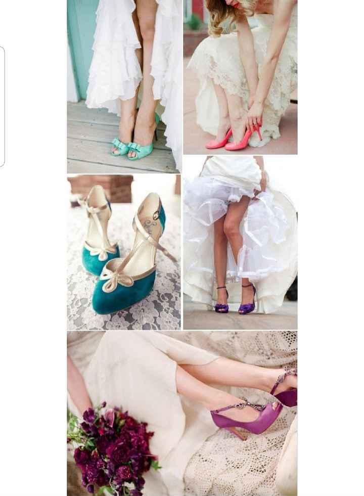 El dilema de Fabi: Zapatos blancos o de colores - 2
