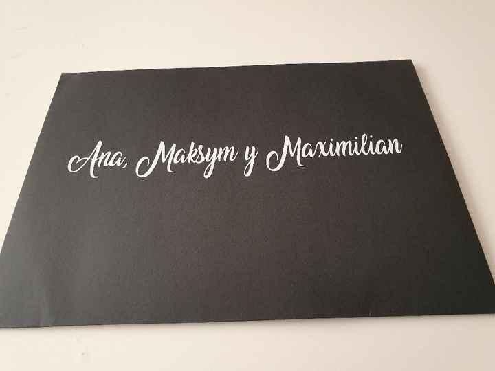 Nuestra invitación y sello de boda! - 1