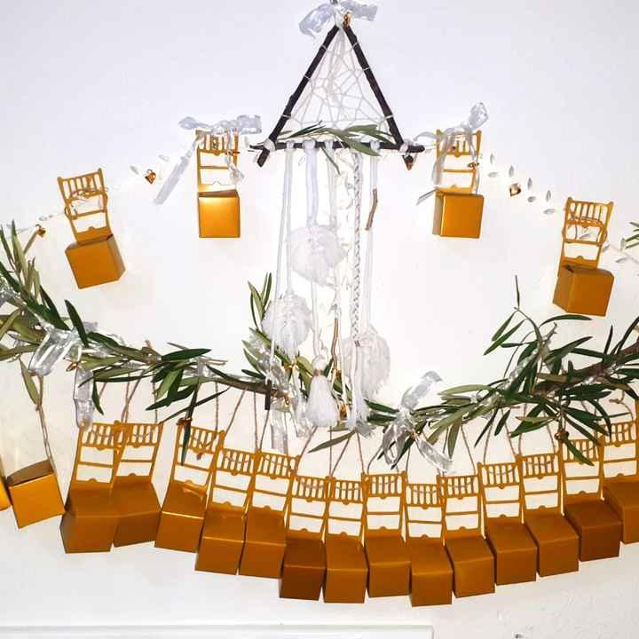 Cosas de boda para manualidades navideñas - 1