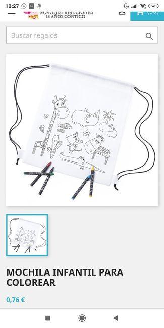 Dudas con los detalles de niños 1