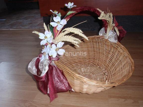 Cestas decoradas manualidades foro - Manualidades regalo boda ...