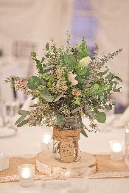 Elige LOS CENTROS DE MESA a 24h de tu boda 🕯️ 1