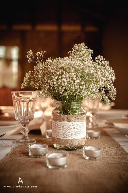 Elige LOS CENTROS DE MESA a 24h de tu boda 🕯️ 2