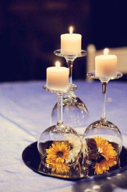 Elige LOS CENTROS DE MESA a 24h de tu boda 🕯️ 3