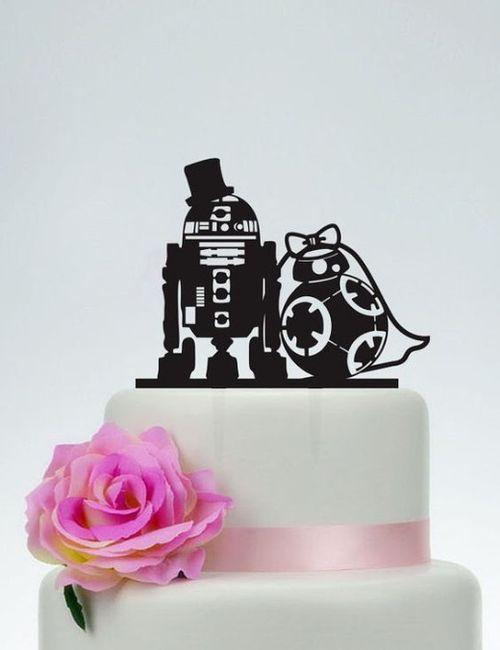Hoy le doy el Sí, Quiero a este CAKE TOPPER 3