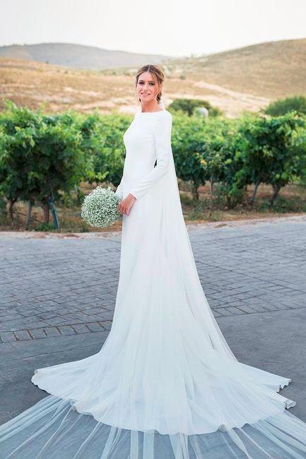Imagenes de vestidos de novia sencillos pero elegantes