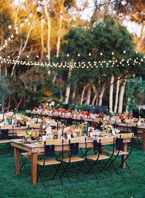Banquete, ¿interior o exterior? 2