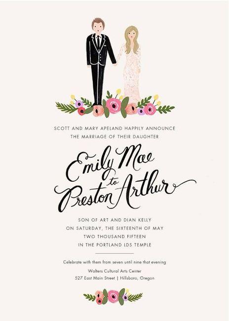Invitaciones, ¿en mano u online? 2