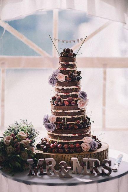 El sabor de la tarta de boda será _____ 1