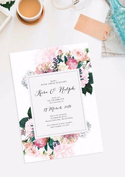 5 faire-part pour un mariage printanier, choisis ! 3