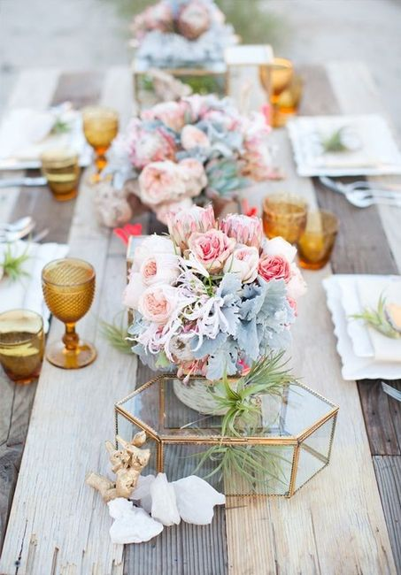 5 centres de table pour un mariage printanier, choisis ! 1