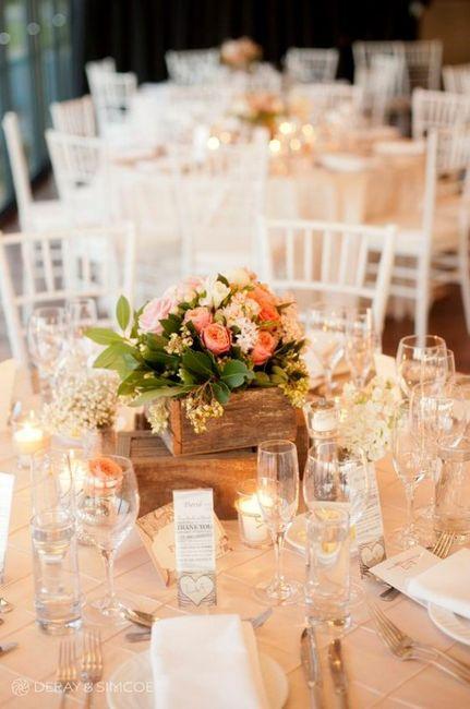 5 centres de table pour un mariage printanier, choisis ! 2
