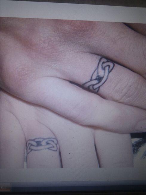 Alianzas tatuadas ¿ alguna mas?? - 1