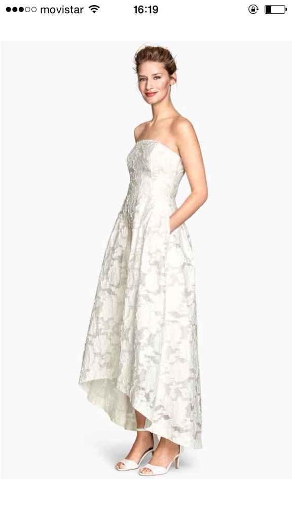 Vestido novia hym 79 euros - 1