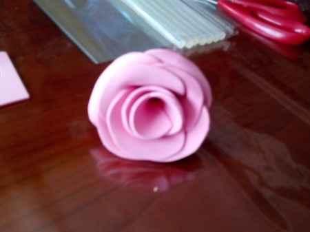 Tutorial ramo de rosas de goma eva - 1