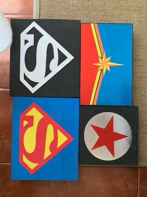 Boda superhéroes: ¡parte de la decoración! - 2