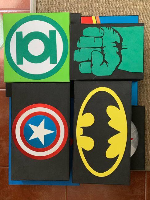 Boda superhéroes: ¡parte de la decoración! - 3