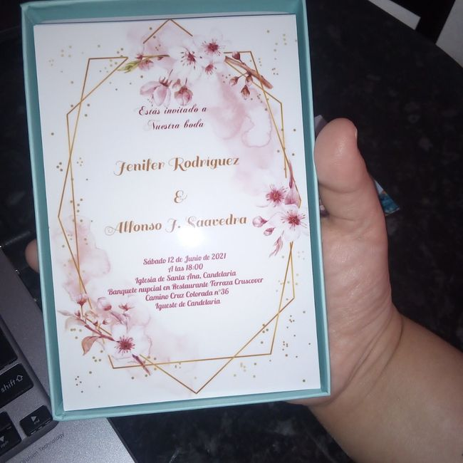 Invitaciones en papel o invitaciones virtuales - 1